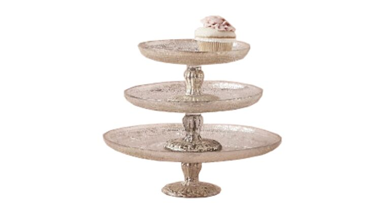 Picture of a Antique Mercury Cake Stand