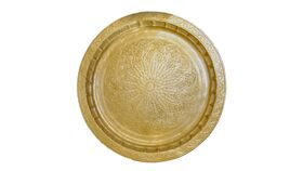 Image of a Brass Moroccan Tray