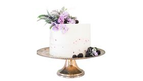 Image of a Silver Cake Stand