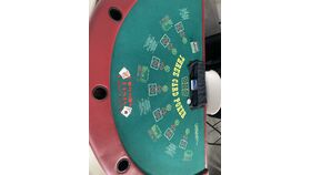 Image of a 3 Card Poker Table