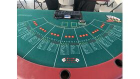 Image of a 7' Let-it-ride table