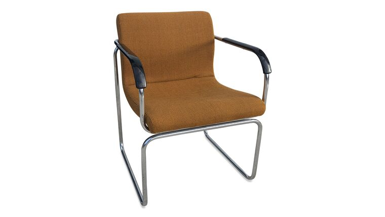Picture of a Ace Tweed Chrome Chair