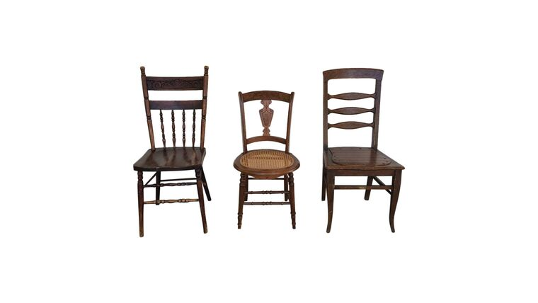 Picture of a Assorted Wooden Dining Chairs