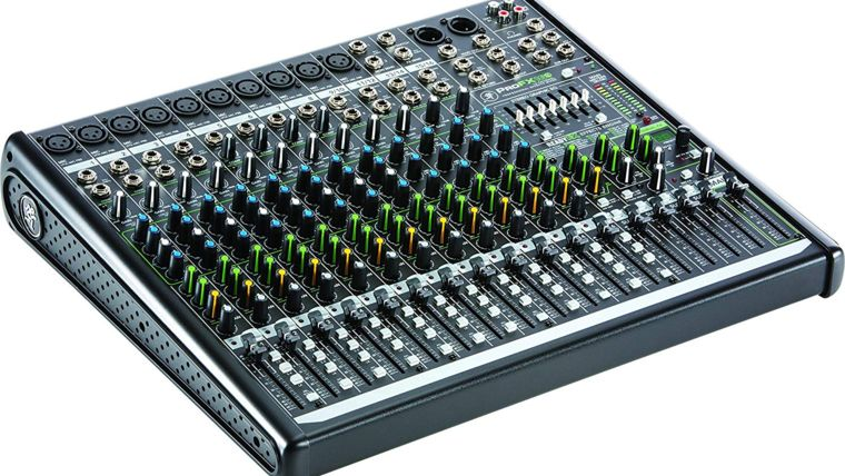 Picture of a 16 Channel Mixer