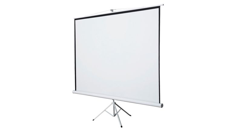 """Picture of a 100"""" Tripod Projection Screen"""