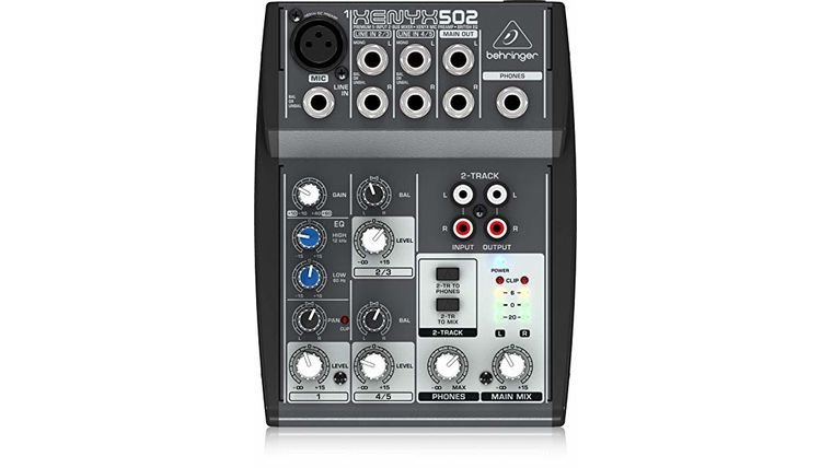 Picture of a 5 Channel Mixer