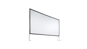Image of a 9 X 16 REAR Projection Screen Kit