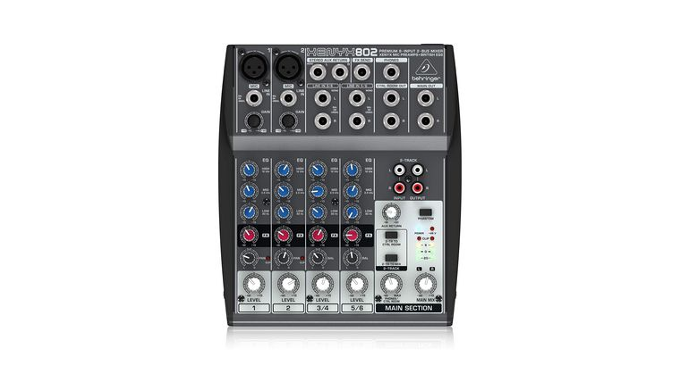 Picture of a 8 Channel Compact Mixer