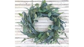 Image of a Round Thick Eucalyptus Garland
