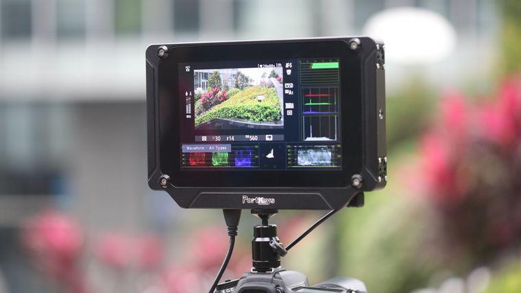 Picture of a Bm7 camera monitor