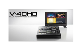 Image of a Roland V-40HD: Multi-format Video Switcher