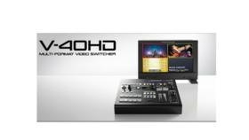Roland V-40HD: Video Switcher image