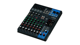 Image of a Yamaha MG10XU 10-Channel Mixer with Effects