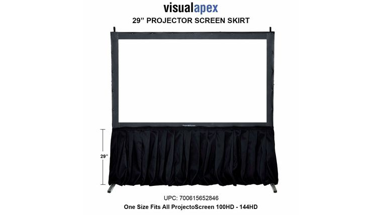 """Picture of a Fast-Fold Screen Skirt 30"""""""
