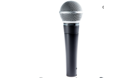 Image of a SHURE SM58 WIRED MICROPHONE