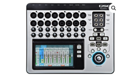 Image of a QSC TOUCHMIX-16 16-CHANNEL COMPACT DIGITAL MIXER