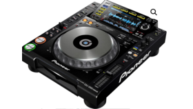 Image of a PIONEER CDJ-2000-NXS DIGITAL DJ TURNTABLE