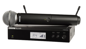 Image of a SHURE BLX24R/SM58 WIRELESS SYSTEM
