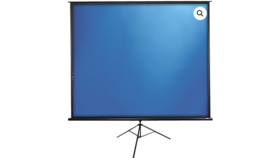 Image of a TRIPOD SERIES 77″ PORTABLE PROJECTOR SCREEN