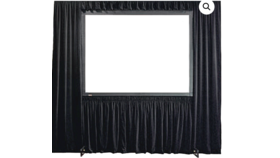 Image of a BASIC DRESS KIT FOR PROJECTION SCREEN