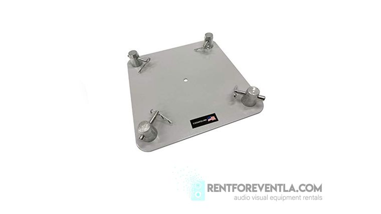Picture of a 12 x 12 Aluminum Base Plate