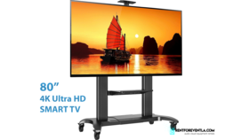 """Image of a TV 82"""" - 4K SmartTV with Stand"""