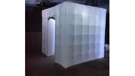 Image of a Inflatable Photo Booth 8x8 white