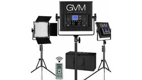 Image of a GVM LED Video Light and Stand Kit