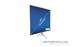 """Image of a Tripod Projection Screen 100"""""""