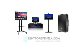 Image of a Home Karaoke Machine + Second Large TV