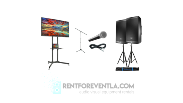 """Picture of a 4k Rental Package (43"""" Tv)"""