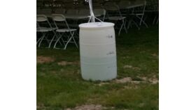 Image of a Tent Water Barrels - Large (55 Gal)