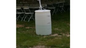 Image of a Tent Water Barrels - Small (30 Gal)