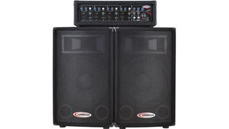 Picture of a PA System - Harbinger (300 watts)