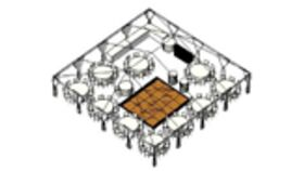 Image of a WEDDING TENT PACKAGE - 102 Guests
