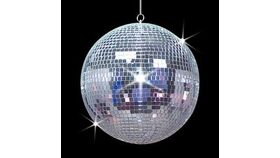 """Image of a Disco Ball (with Motor) - 20"""""""