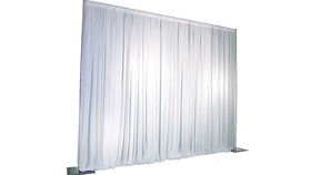 Image of a Pipe & Drapes Set - 8' High x 10' Wide