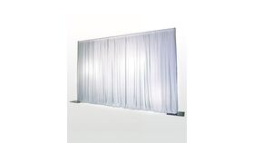 Image of a Drapes - 10'Wx14'H - White Sheer