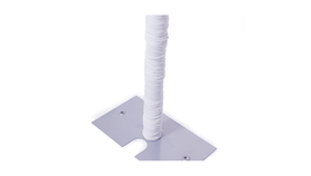 Image of a Upright Covers - White Spandex