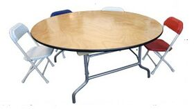 """Image of a Kid's - 48"""" Round Table"""