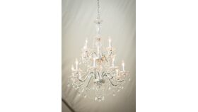 Image of a Chandelier, Crystal