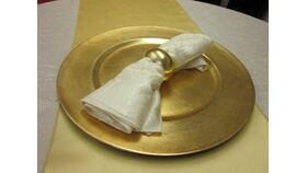 Image of a Napkin Rings - Gold