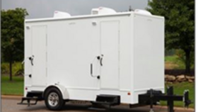 Image of a Restroom - 10' Trailer w/ 2 Restrooms