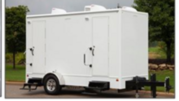 Picture of a Restroom - 14' Trailer w/ 4 Restrooms