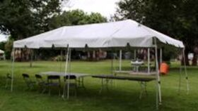 Image of a Frame Tent - 10x20