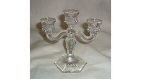 Image of a Candelabra - Short Glass