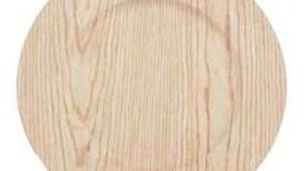 """Image of a Chargers 13"""" - Faux Wood - Natural"""