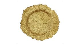 """Image of a Chargers 13"""" - Glass Sponge - Gold"""