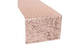 Image of a Table Runner - Glitz - rose gold