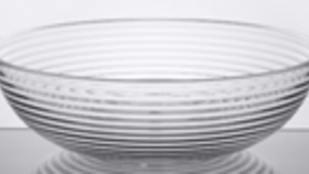 Image of a Bowl - Ribbed - 18""